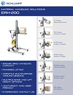 Portable Roll Lifter ERH-200