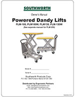 Powered Dandy Lift Manual