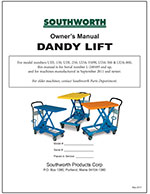 Dandy Lift New/Old L-Series Manual
