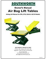 Lift Tables, EZ Loader, L2K, L3K, L5K and EZ OFF