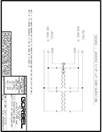 Gorbel's G-Force Transformer Wiring Diagrams