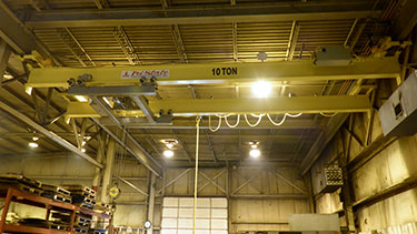 Double Girder Under Running Bridge Cranes