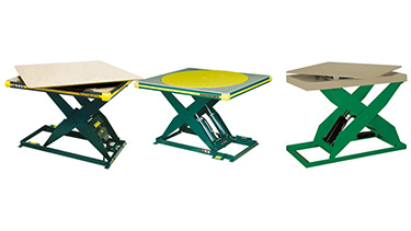 Electric Lift Tables with Turntable