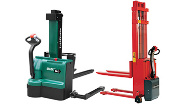 Fully Powered Pallet Stackers