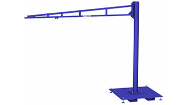 Tool Balancer Jib Crane with Portable Base