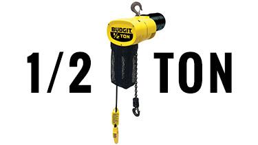 1/2 Ton Budgit Electric Chain Hoists