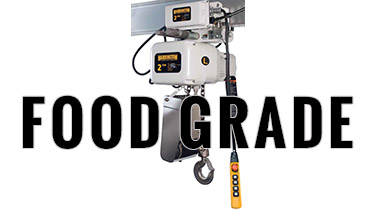Harrington Food Grade Hoist