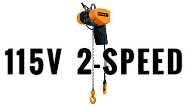 2-Speed Single Phase Hoists