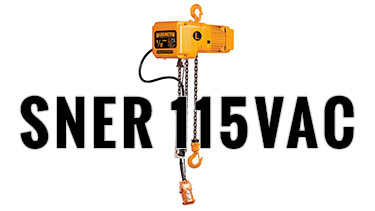 SNER Single Phase Hoists