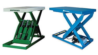 Lift Tables and Scissor Lifts
