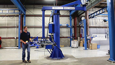 Manipulator Arm and Rigid Column Lift Videos
