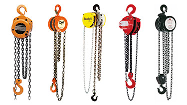 Manual / Hand Chain Hoists