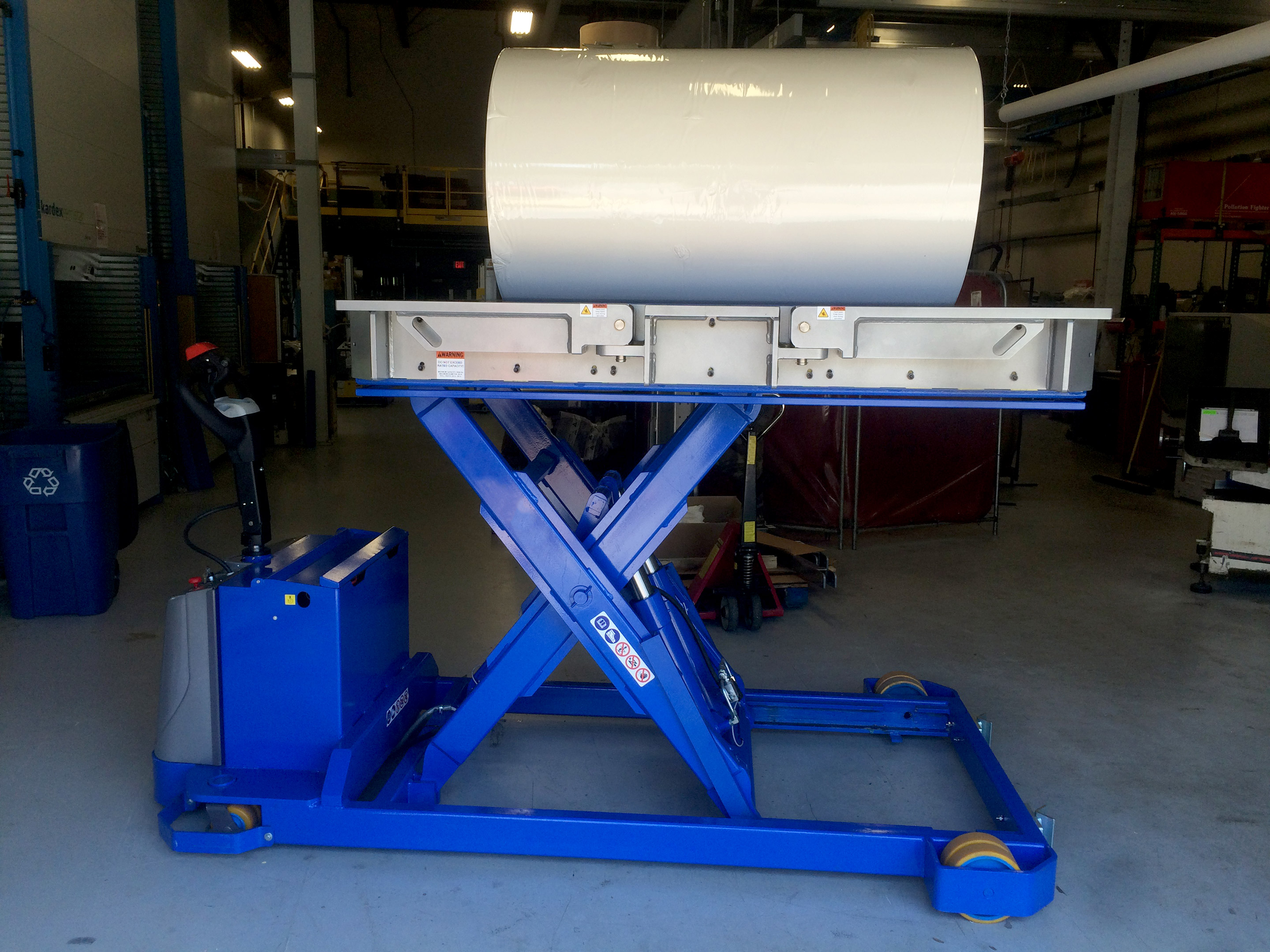 Portable Lift Table Paper Roll Handling Equipment