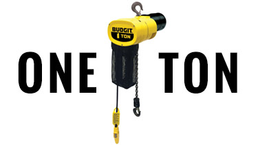 Buy 1-Ton Budgit Electric Chain Hoists
