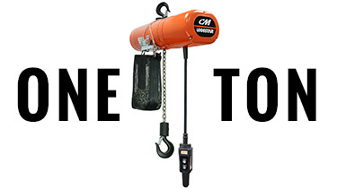 Buy 1-Ton CM Electric Chain Hoists