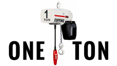 1-Ton Coffing Electric Chain Hoists