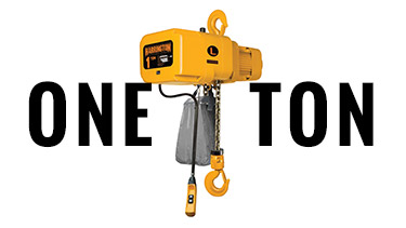 1-Ton Harrington Electric Chain Hoists