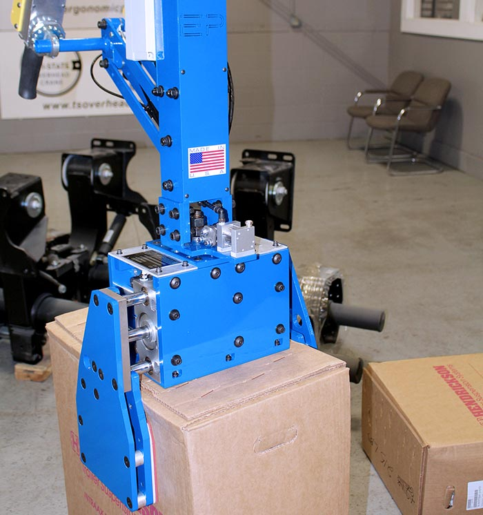 Pneumatic Gripper for 215 Pound Boxes