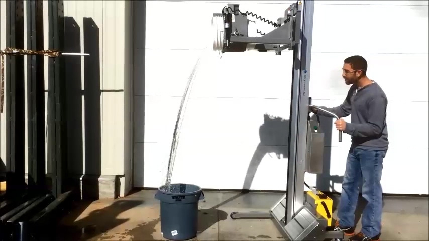 Portable Grip and Pour Lifter for 5-Gallon Buckets