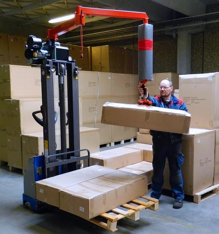 Portable Vacuum Lifter for Boxes