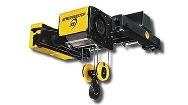 R&M Spacemaster SX Wire Rope Hoist Double Girder Trolley