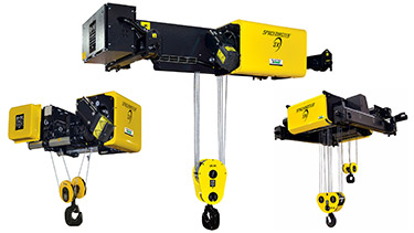 R&M Spacemaster Wire Rope Hoist