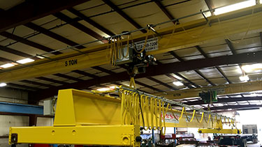 Single Girder Top Running Bridge Cranes