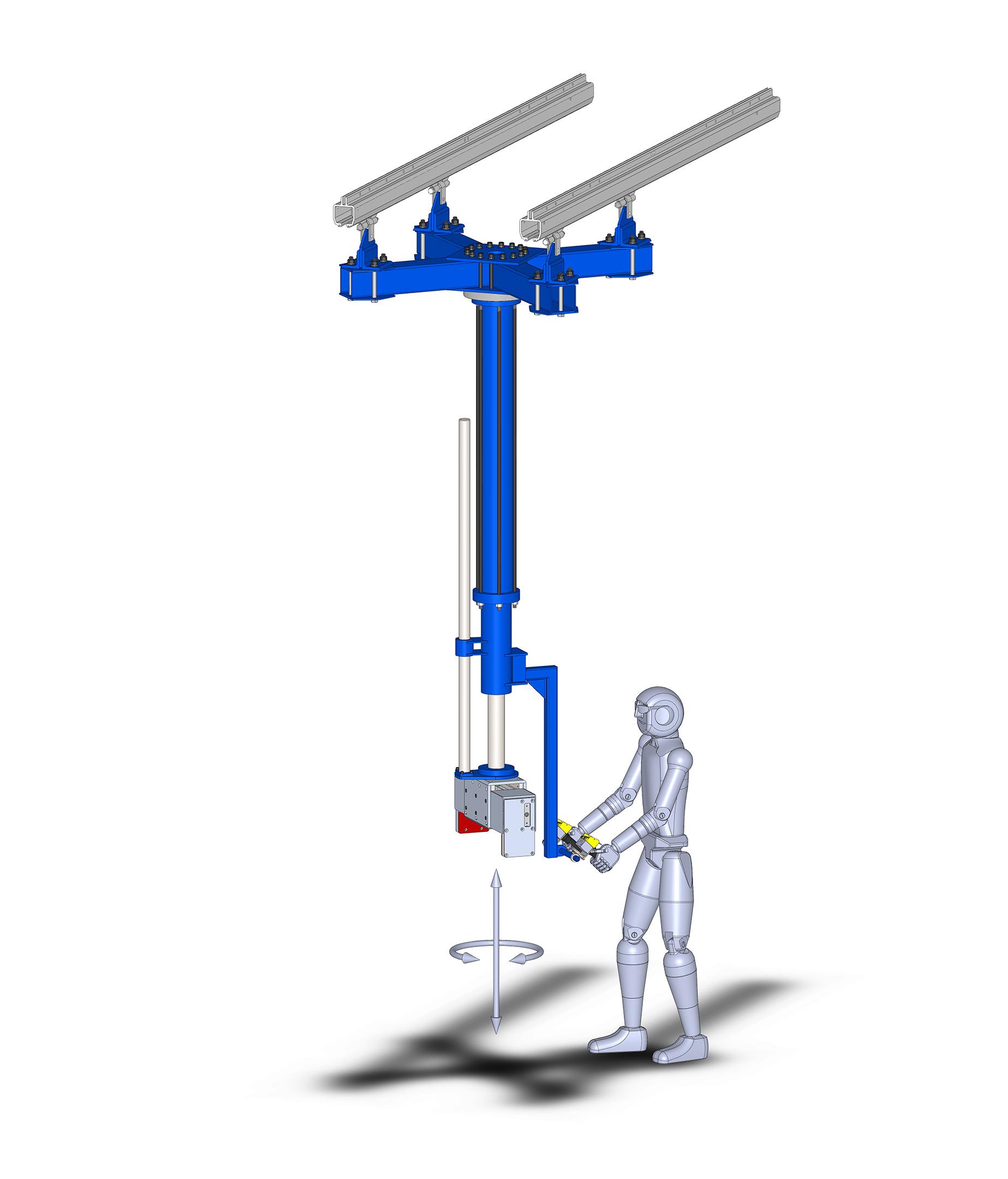 Pneumatic Manipulator Arms : Manipulator arms hydraulic pneumatic vertical lifters