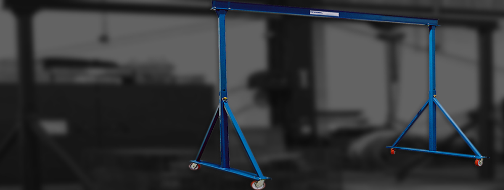 Adjustable Height Portable Gantry Cranes