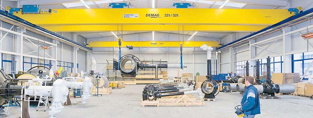 Demag Cranes Overhead Crane Parts Ergonomic Partners