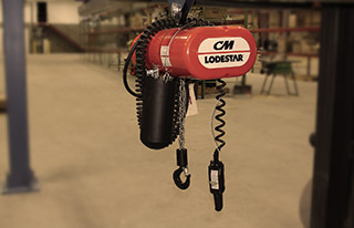 LodeStar, ShopStar and CM Man Guard Hoists
