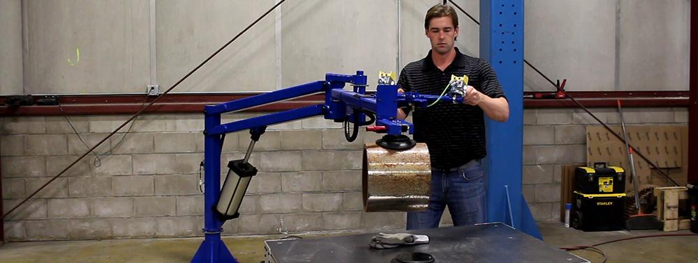 Manipulator Arms Hydraulic Pneumatic Vertical Lifters