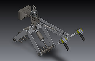 Mechanical Lifter for Sacks