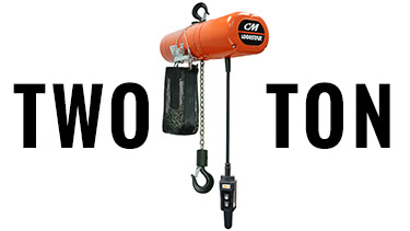 Buy 2-Ton CM Chain Hoists