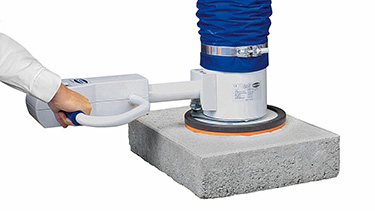 Vacuum Gripper for Stone Pavers