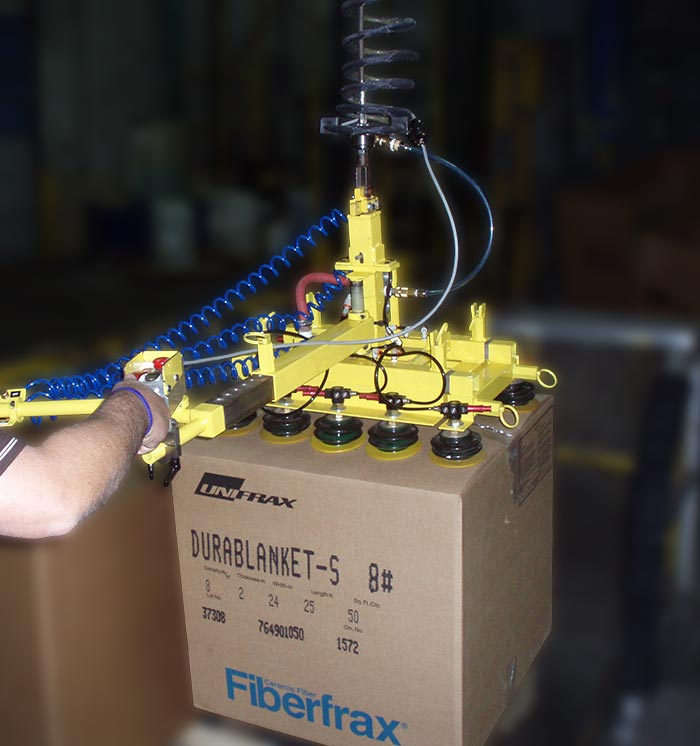 Vacuum Lifter for Box Handling Application