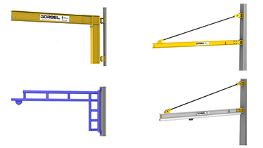 Gorbel Jib Crane Jib Cranes For Sale Ergonomic Partners