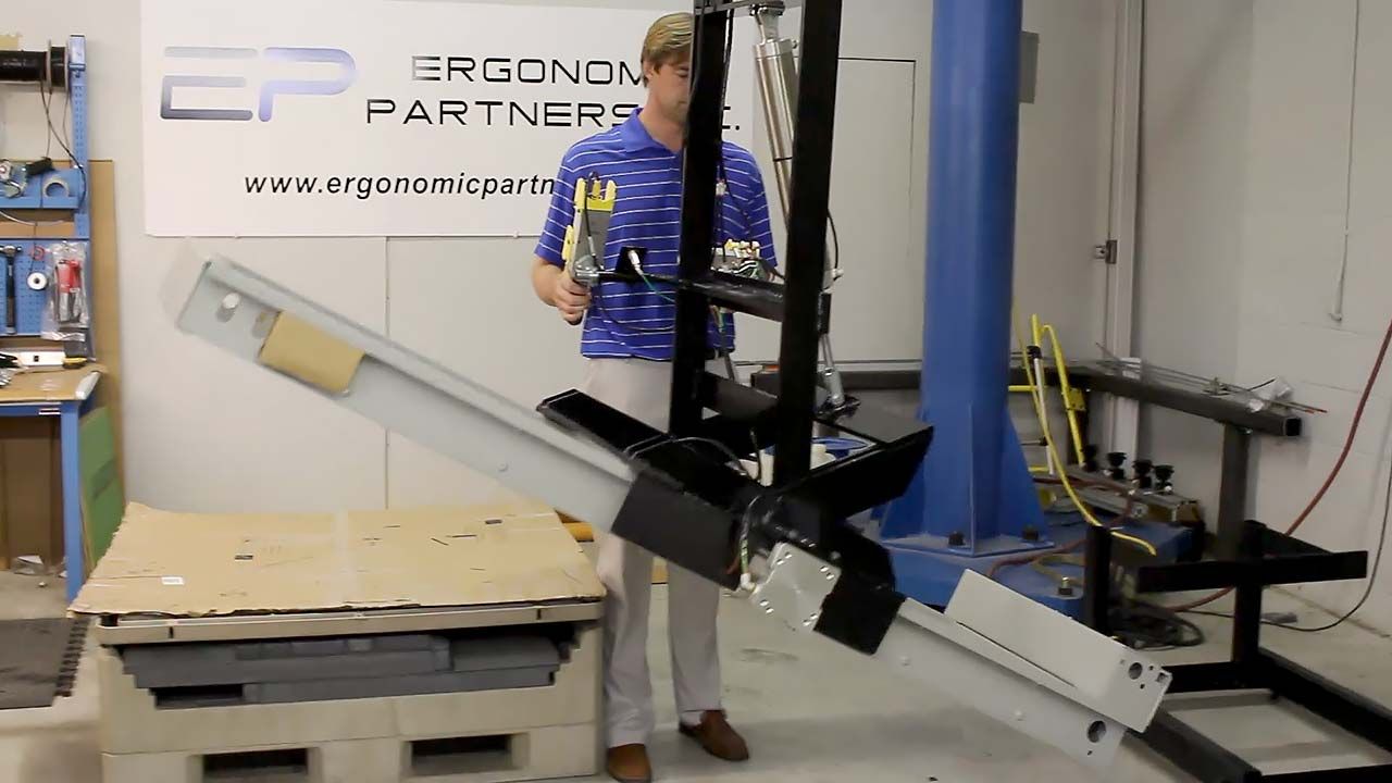 Pneumatic Gripper Equipment Demonstration Ergonomic