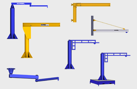 Picture for category Jib Cranes