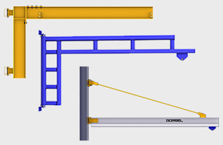 Picture for category Wall Mounted Jib Cranes