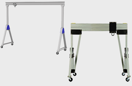 Picture for category Aluminum Gantry Cranes