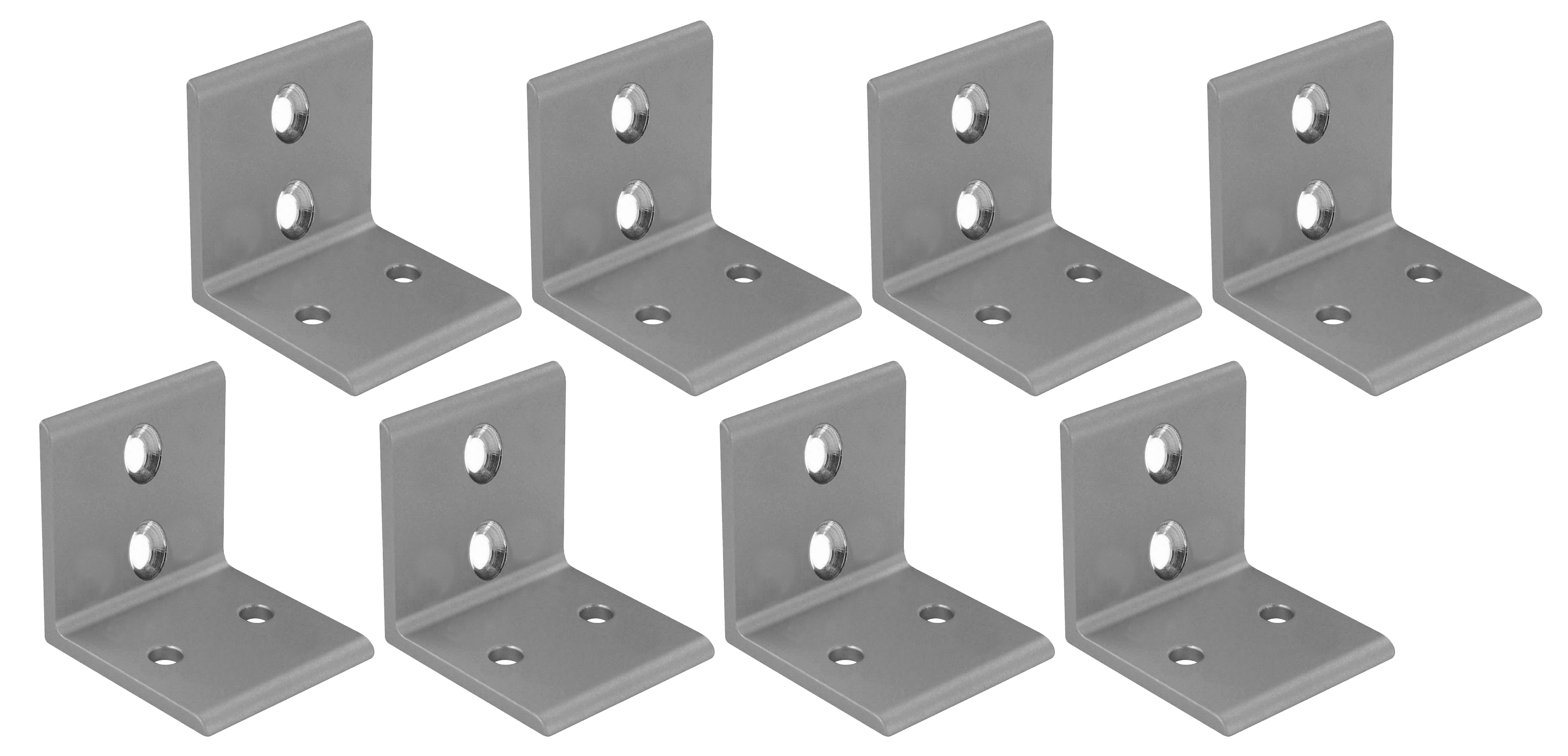 Aluminum Mounting Brackets (set of 8)