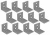 Aluminum Mounting Brackets (set of 12)