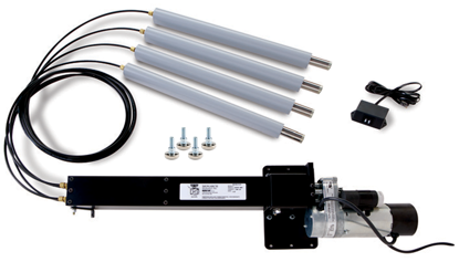 Dyna-Lift Heavy Duty Electric Height Adjustable Kit, Stainless Steel Rod Ends & Feet