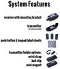 Flex Mini Radio Remote Control System Features