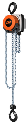 1-Ton CM Hurricane 360 Hand Chain Hoist, 15 ft. Lift, Part No 5627A