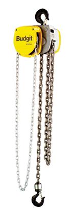 1-Ton Budgit USA Series, Hand Chain Hoist, Hook Suspension, Part No 8262