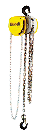 6-Ton Budgit USA Series, Hand Chain Hoist, Hook Suspension, Part No 8267