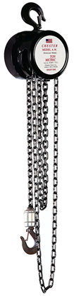 1/2-Ton Chester Model AM Hook Type Hand Chain Hoist, Part No 150-1/2