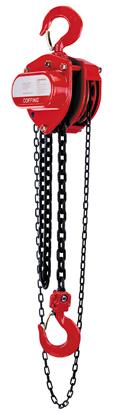 1  1/2-Ton Coffing LHH Model Hand Chain Hoist, Lift 10 ft., Part No 08921W